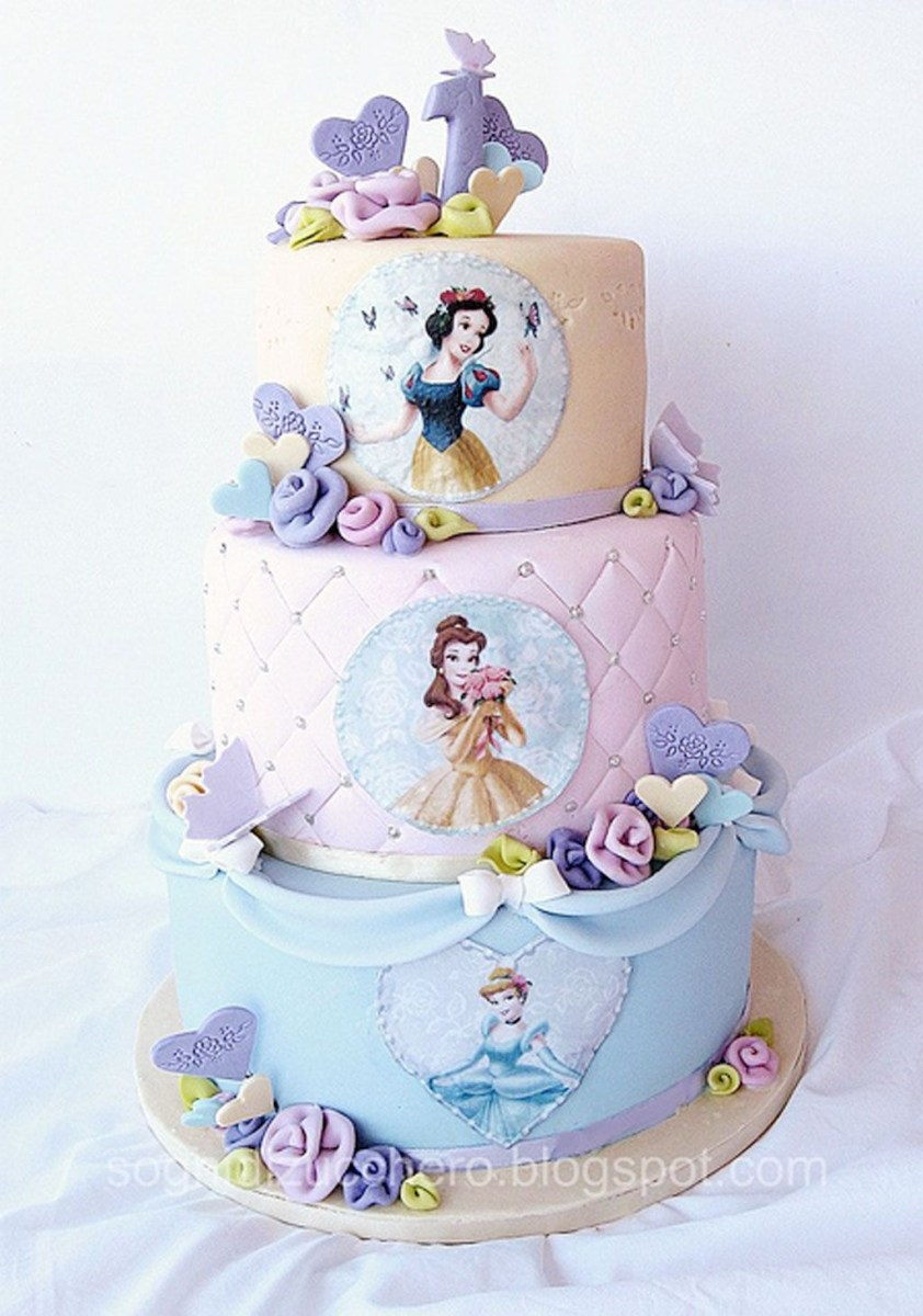 Magnificent Disney Princess Birthday Cakes Disney Princess Birthday Cake Personalised Birthday Cards Petedlily Jamesorg