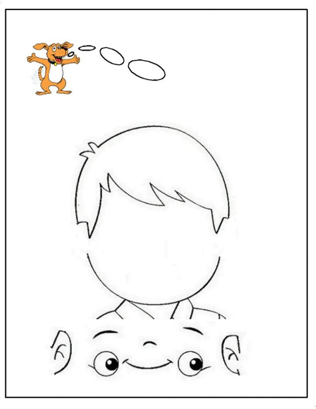 Dltk Coloring Pages Five Senses Coloring Pages Kindergarten My Download Sense Organs