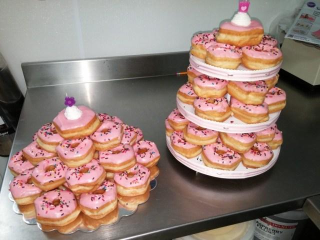 Donut Birthday Cake Donuts The Perfect Treat For A Birthday Celebration Shipley Do Nuts