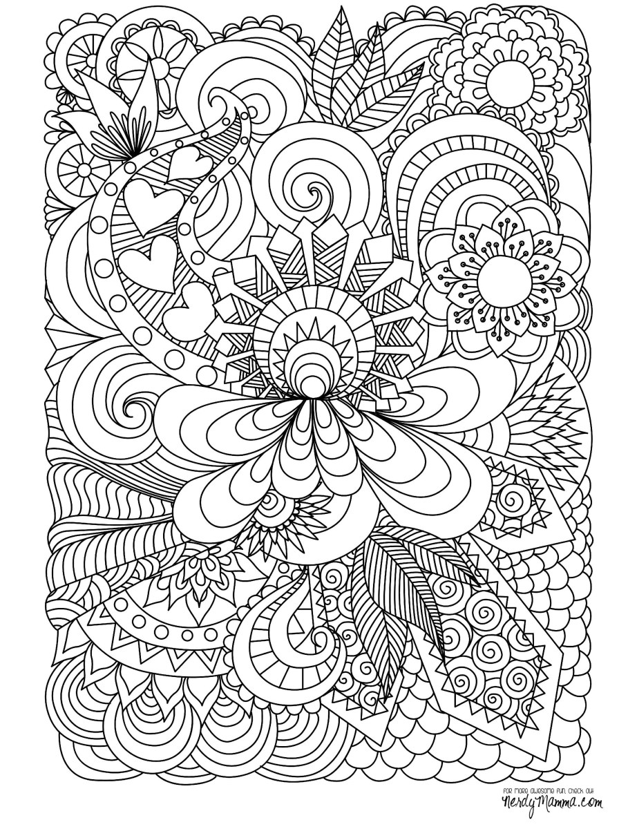 Doodle Coloring Pages April Showers Bring May Flowers Coloring