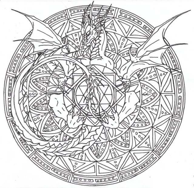 Dragon Coloring Pages For Adults Detailing Dragon Adult Coloring Pages Printable 3031 Dragon Adult
