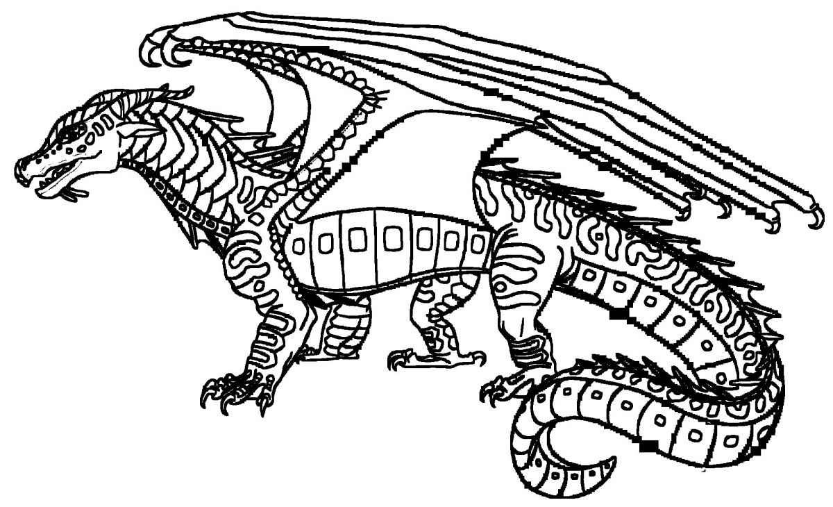 Dragon Coloring Pages For Adults Fire Breathing Dragon