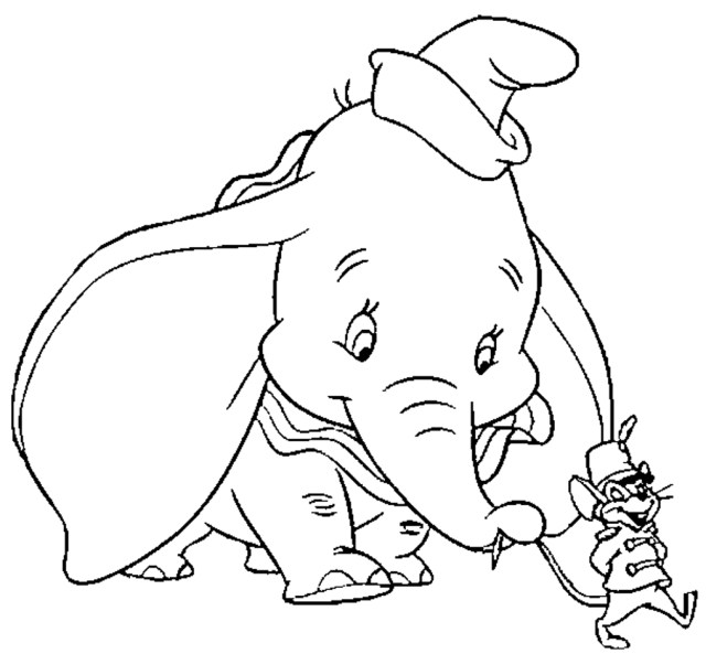Dumbo Coloring Pages Dumbo Coloring Pages Only Coloring Pages Coloring Home