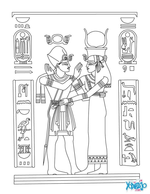 Egyptian Coloring Pages Ancient Egypt Coloring Pages 9 Futurama