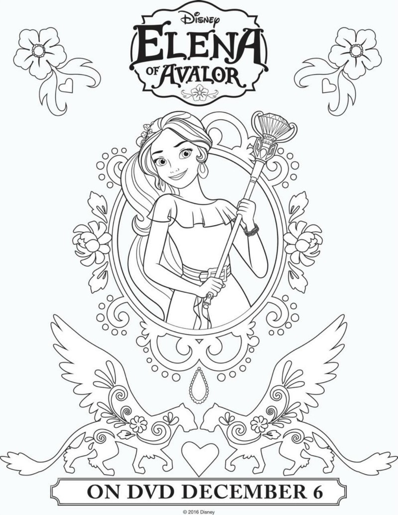 picture about Elena of Avalor Coloring Pages Printable titled Elena Of Avalor Coloring Web pages Elena Of Avalor Coloring