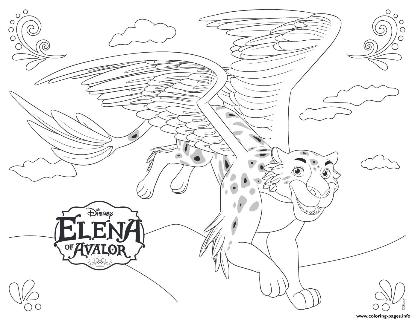image regarding Elena of Avalor Coloring Pages Printable titled Elena Of Avalor Coloring Web pages Elena Of Avalor Jaquin Disney