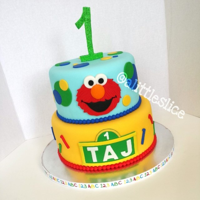 Elmo Birthday Cakes Elmo 1st Birthday Cake Cakecentral