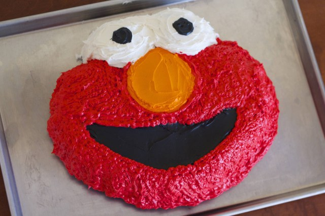 Elmo Birthday Cakes Elmo Birthday Cake Recipe Makebetterfood