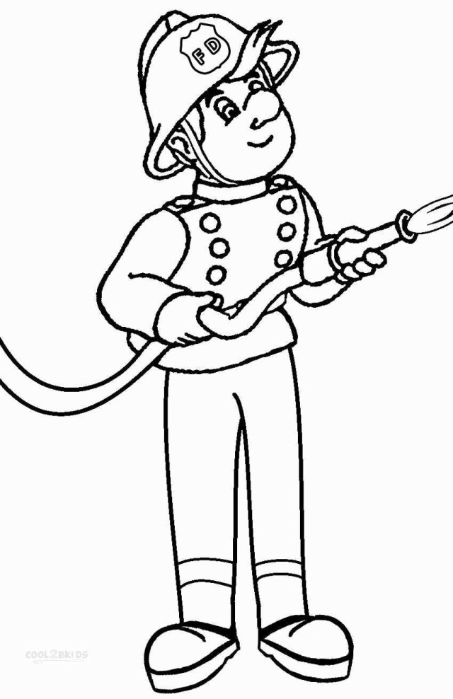 Firefighter Coloring Pages Cooloring Book Firefighter Coloring Page Best Of Fire Fighter