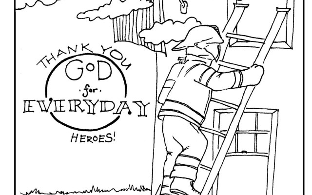 Firefighter Coloring Pages Fireman Coloring Page Free Printable Pages Wonderfulghter For Adults