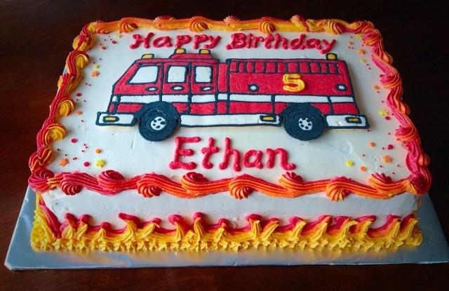 Enjoyable 21 Wonderful Image Of Fireman Birthday Cake Birijus Com Personalised Birthday Cards Sponlily Jamesorg