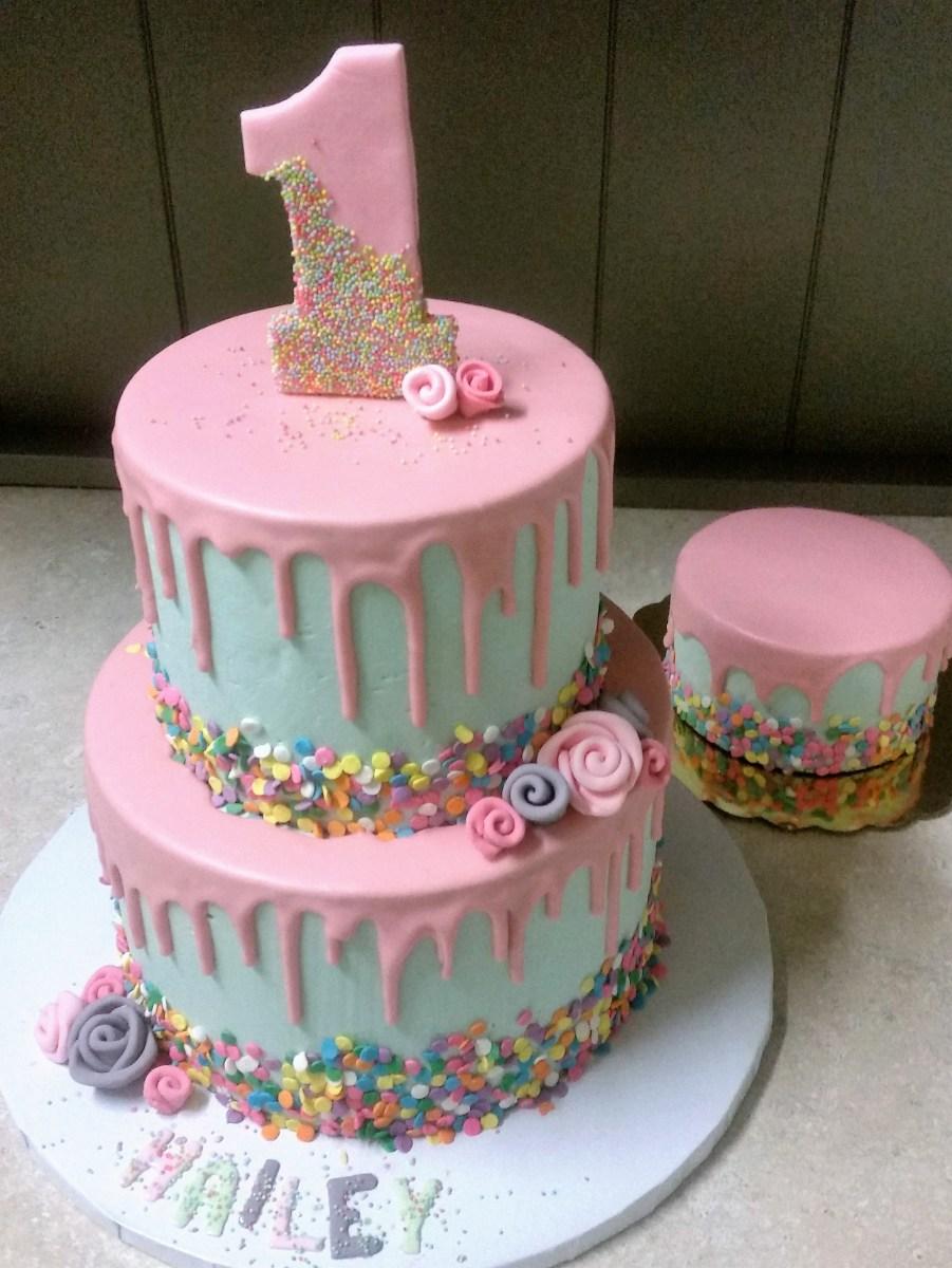 Stupendous First Birthday Cake Kids Birthday Cakes Laurie Clarke Cakes Funny Birthday Cards Online Inifofree Goldxyz
