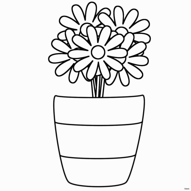 Flower Pot Coloring Page Awesome Flower Pot Coloring Sheet Ishag
