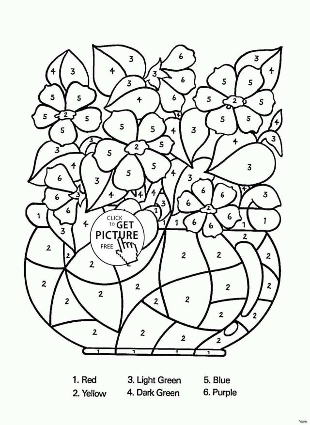 Flower Pot Coloring Page Flower Pot Coloring Page Unique Coloring Pages Flower Vase New