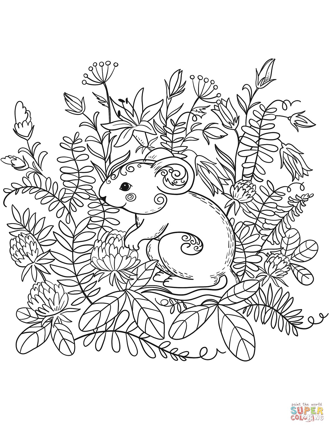 - Forest Animals Coloring Pages Forest Animals Coloring Book Free