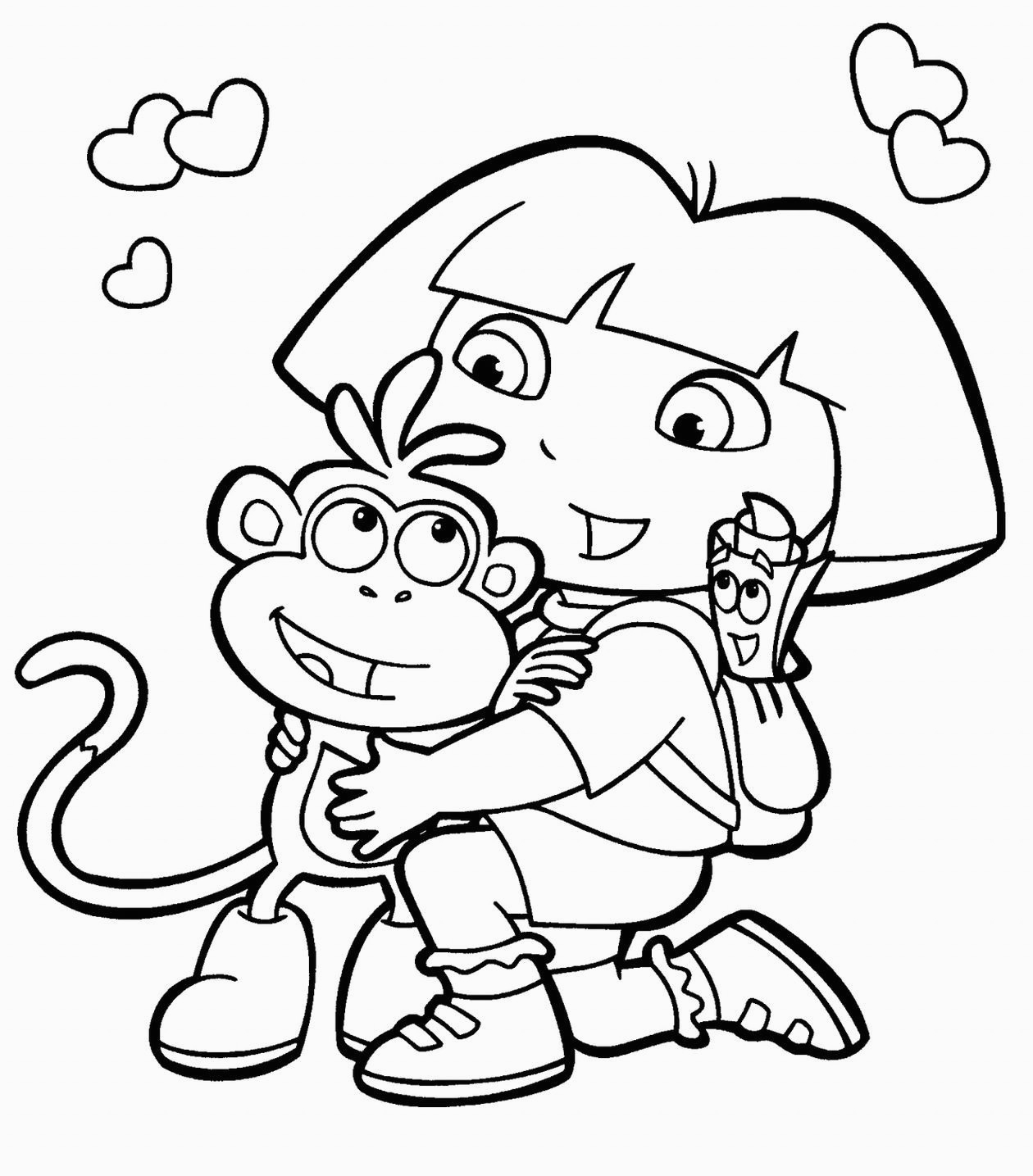 - Free Childrens Coloring Pages Best Free Printable Coloring Pages