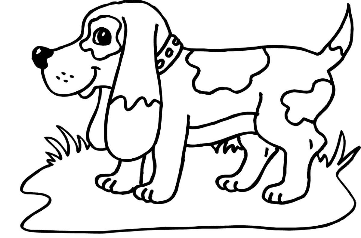 Free Dog Coloring Pages Dalmatian Dog Coloring Pages