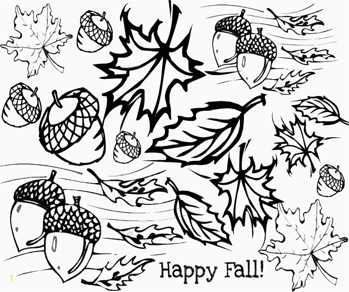 Free Fall Coloring Pages Awesome Autumn Coloring Pages For ...
