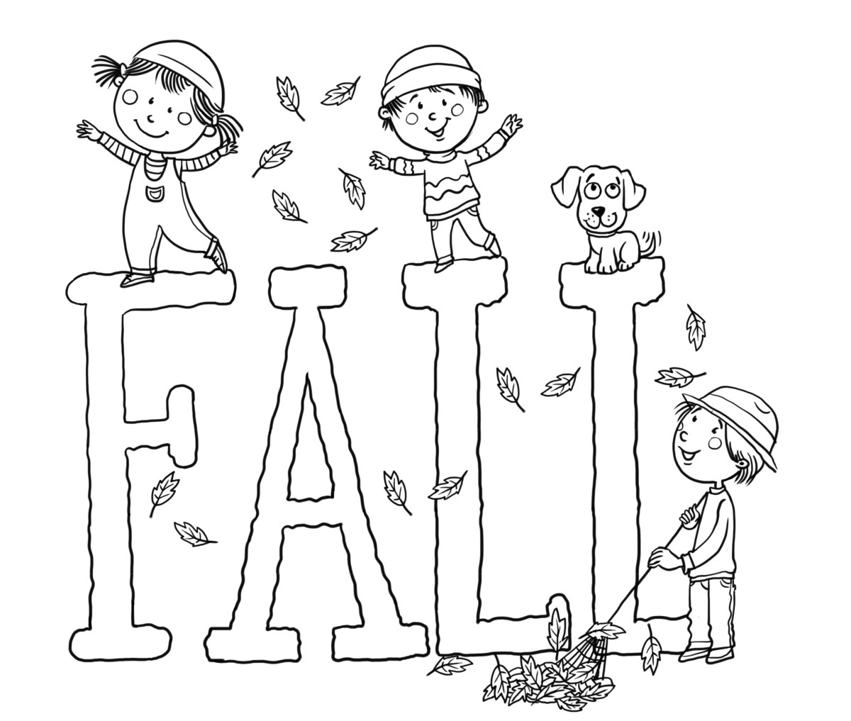 Free Fall Coloring Pages Free Printable Fall Coloring Pages