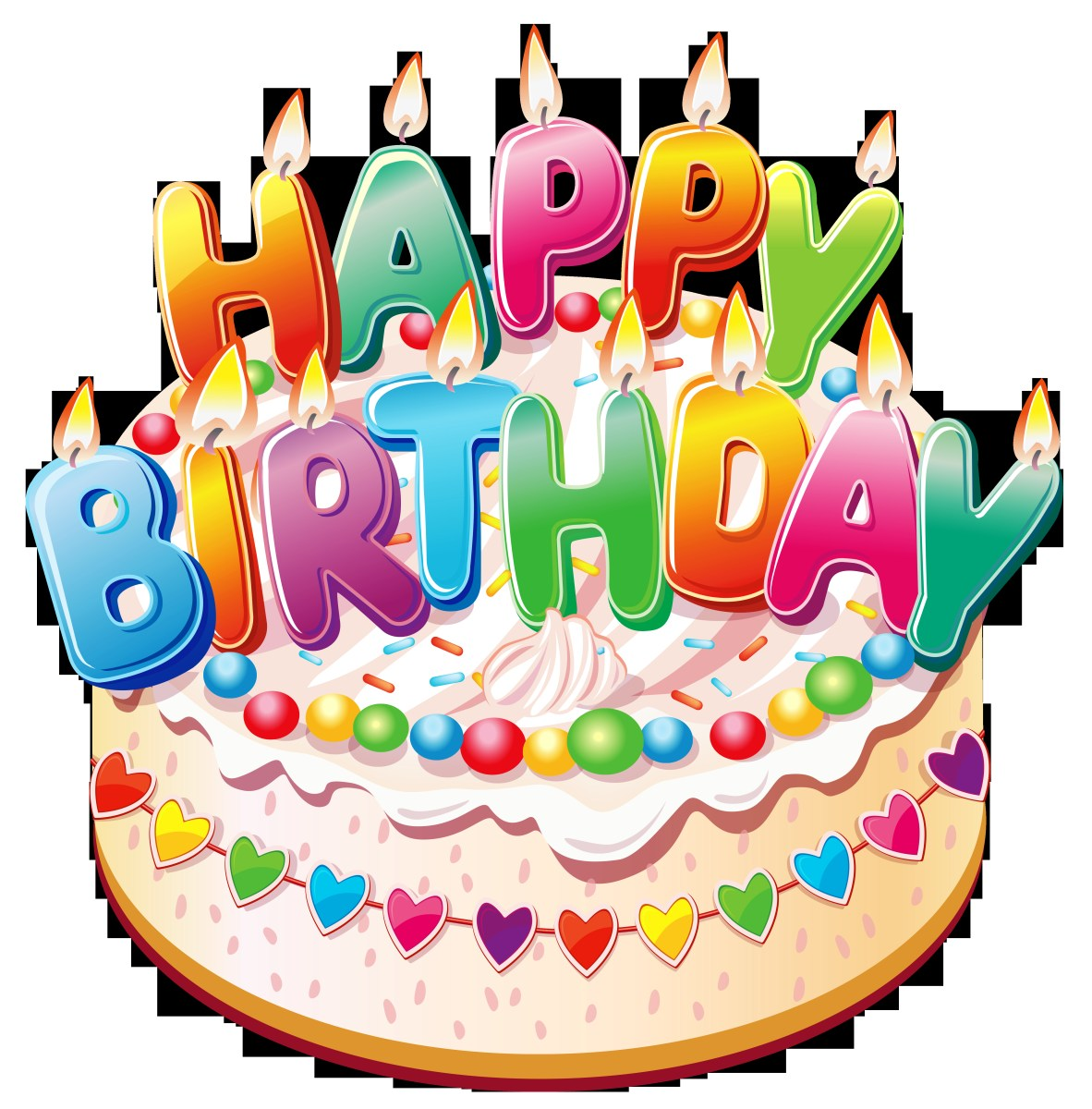 Prime Free Pictures Of Birthday Cakes Birthday Cakes Clipart 3 Free Personalised Birthday Cards Veneteletsinfo