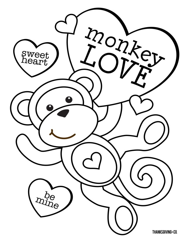 Free Valentines Day Coloring Pages 4 Free Valentines Day Coloring Pages For You To Color With Your