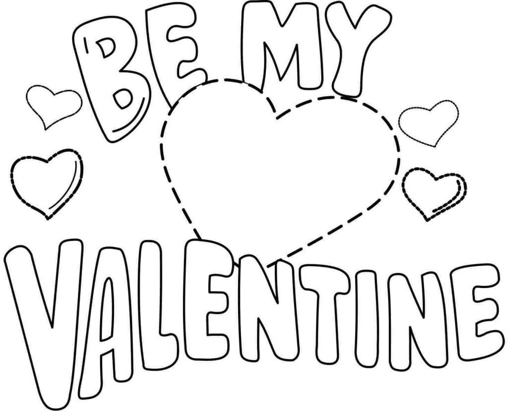 25+ Exclusive Picture of Free Valentines Day Coloring Pages ... | 828x1024