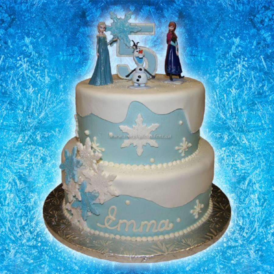 Brilliant Frozen Birthday Cake Ideas 2 Tier Buttercreamfondant Disney Frozen Funny Birthday Cards Online Elaedamsfinfo