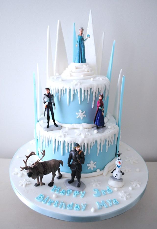 Frozen Birthday Cake Ideas Frozen 2 Birthday Cakes London Cupcakes Miss Cupcakes
