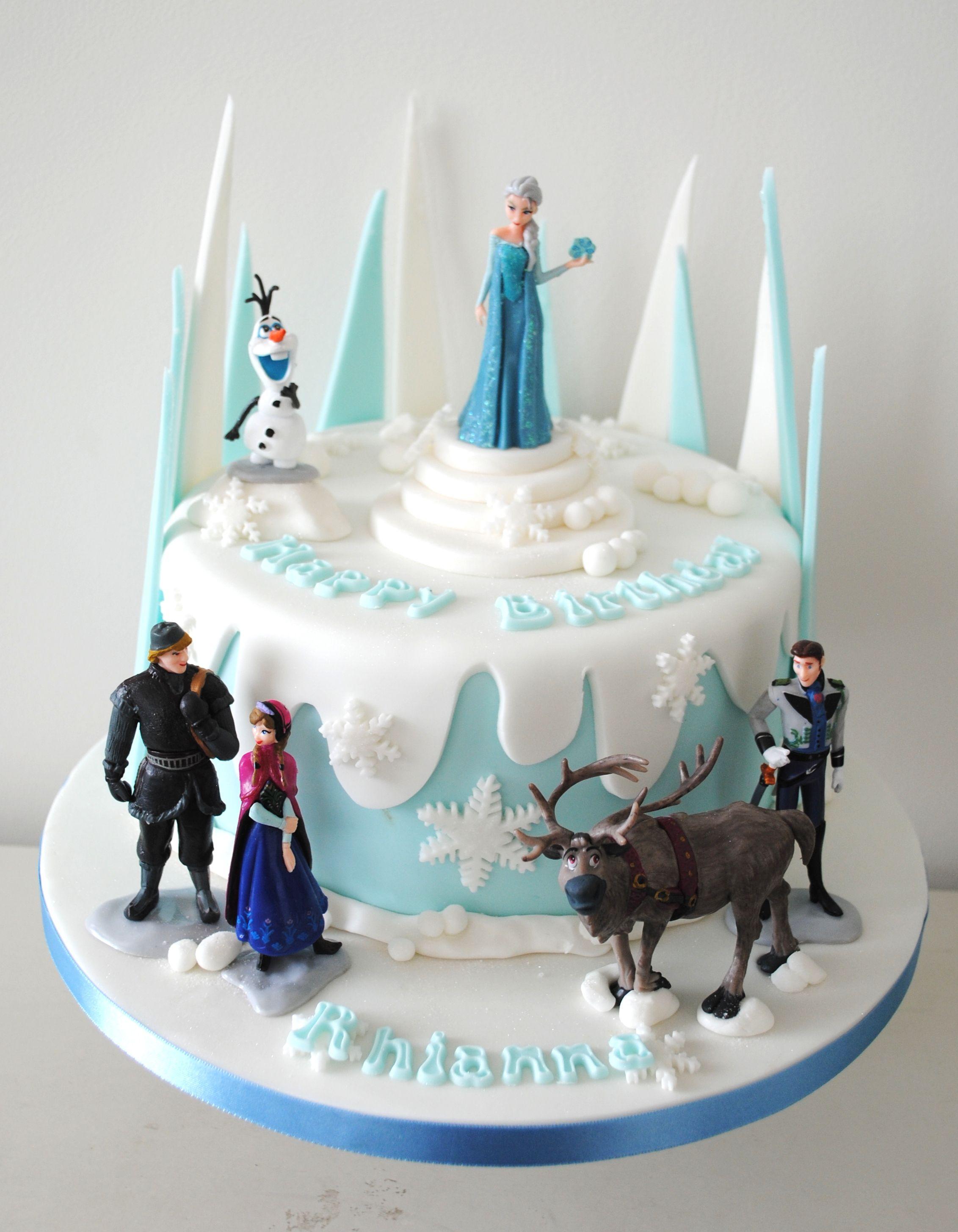 Super 32 Elegant Image Of Frozen Birthday Cake Ideas Birijus Com Funny Birthday Cards Online Fluifree Goldxyz