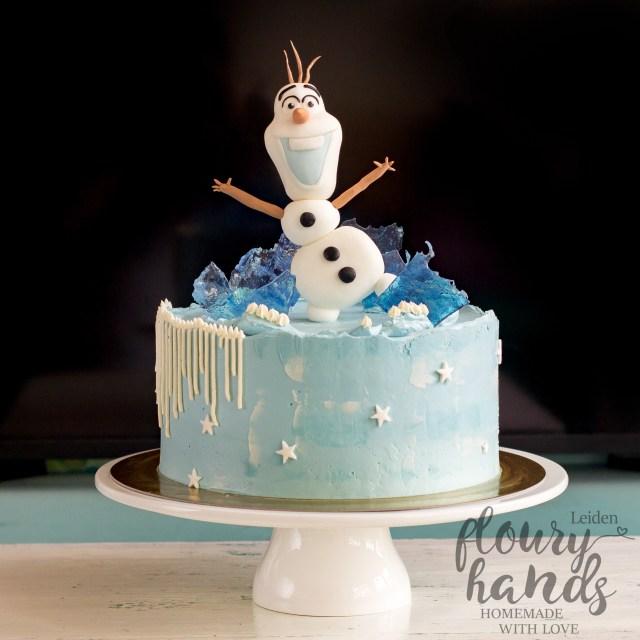 Frozen Birthday Cake Ideas Olaf Frozen Birthday Cake Floury Hands