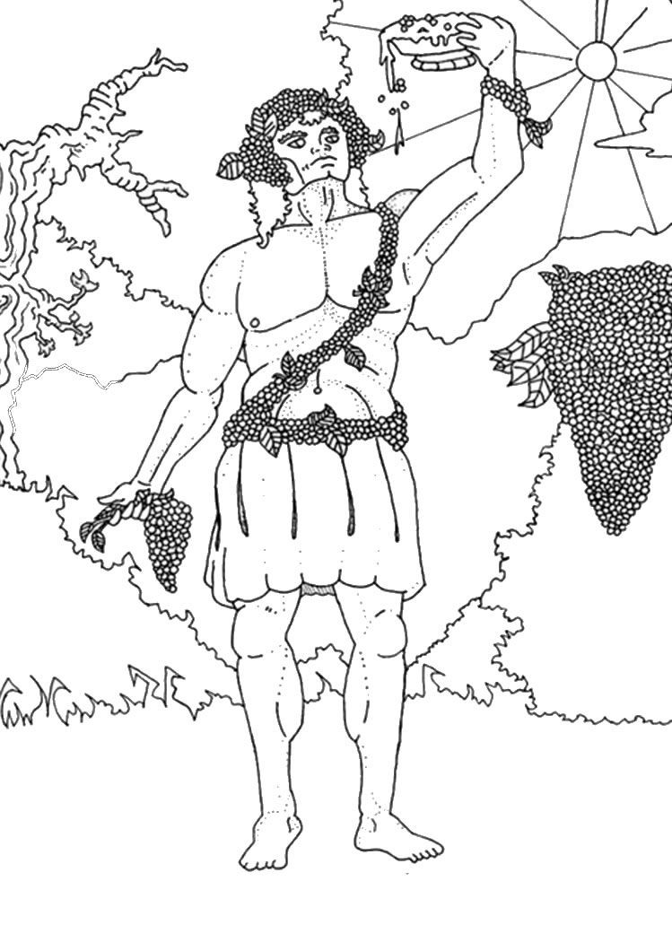 God Coloring Pages Greek God And Goddesses Coloring Pages