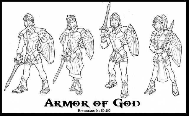 God Coloring Pages Noted Armour Of God Coloring Page Armor Pages Awesome Good 5