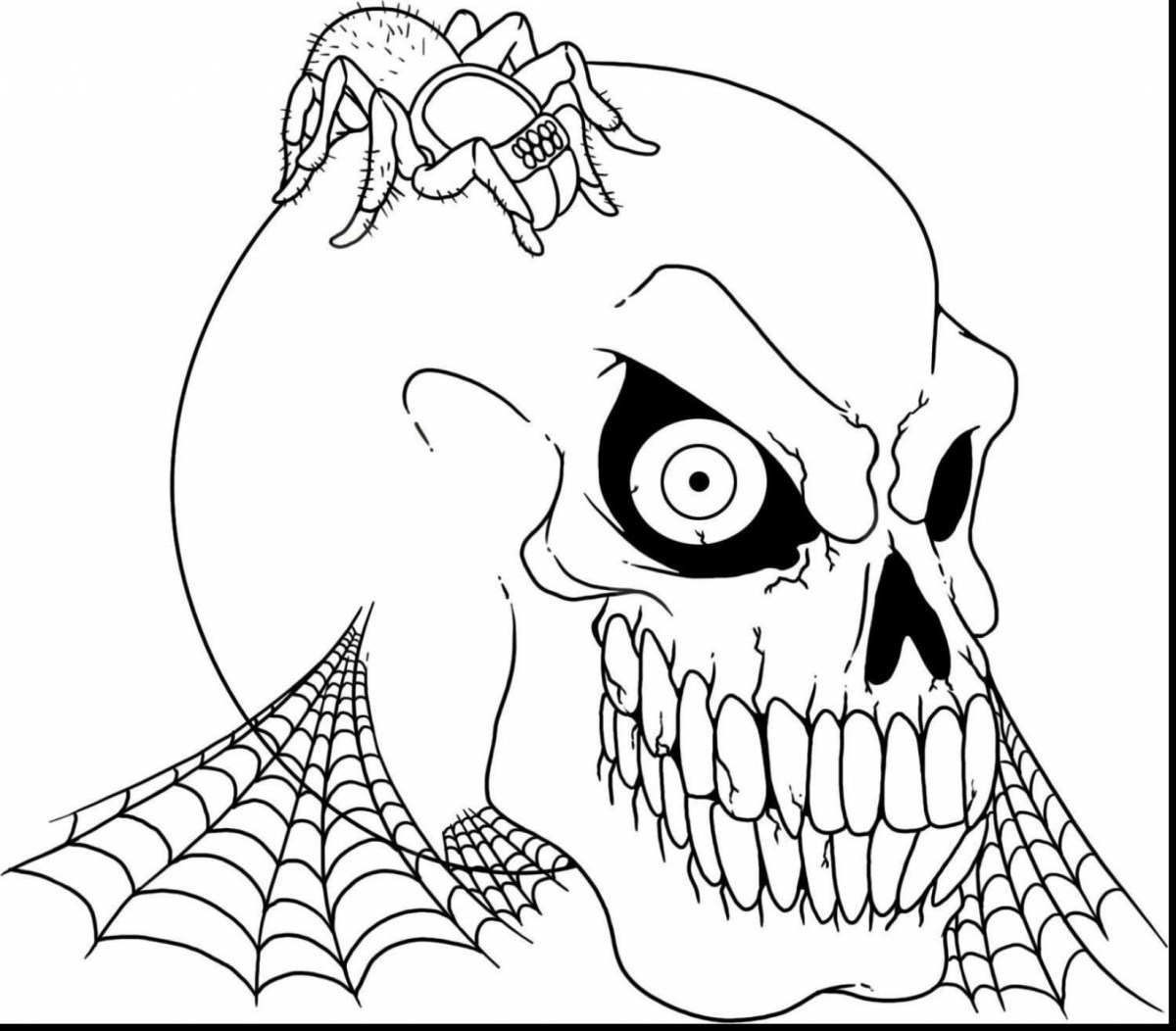Halloween Coloring Sheets | Printable Halloween Coloring Pages ... | 1052x1200