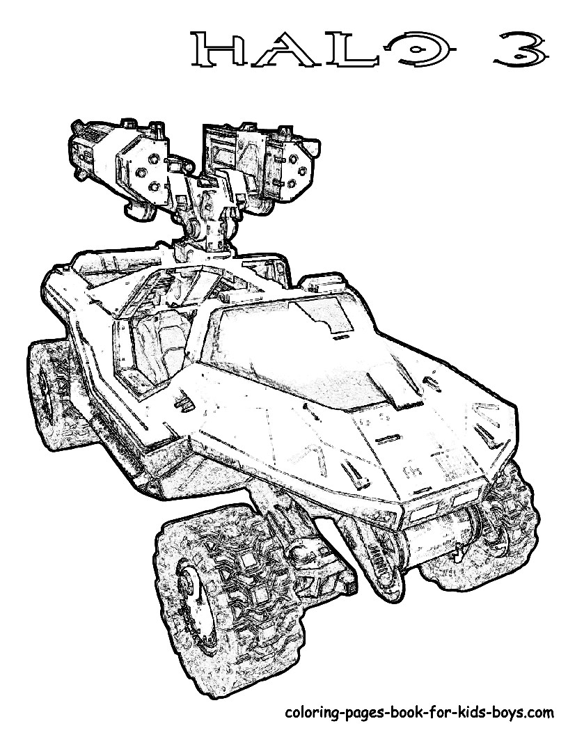 Halo Coloring Pages Halo Coloring Pages - birijus.com