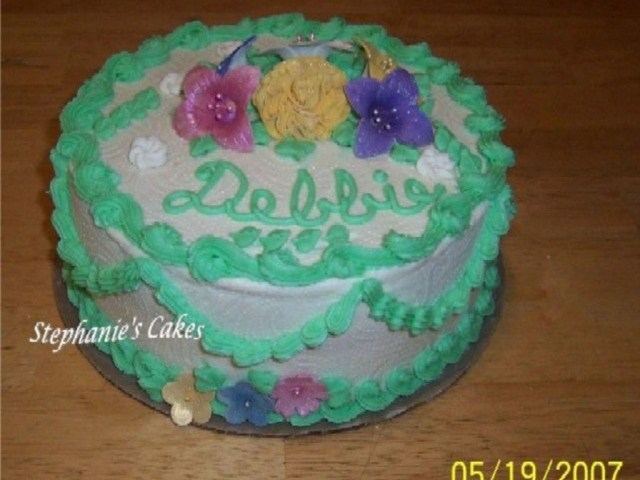 Happy Birthday Deborah Cake Happy Birthday Debbie Cakecentral