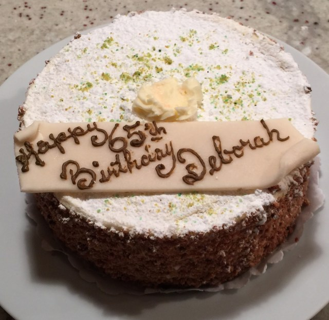 Happy Birthday Deborah Cake Hugh Tildesley 2015 And 2016 A Different Journey Portland And