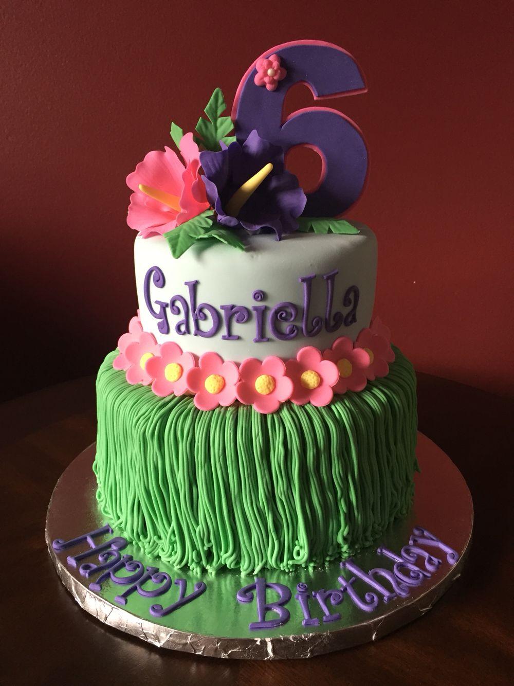Pleasant Hawaiian Birthday Cake American Girl Doll Kanani Hawaiian Birthday Personalised Birthday Cards Paralily Jamesorg