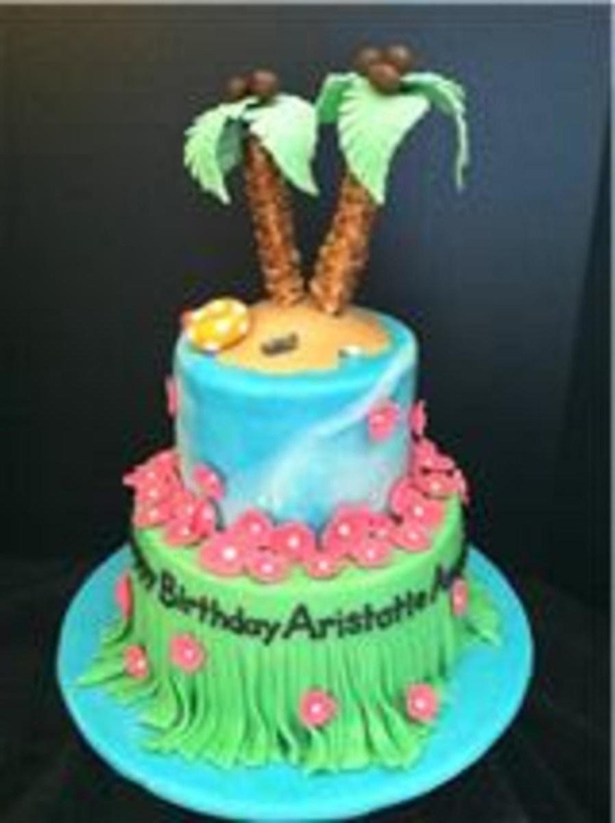 Outstanding Hawaiian Birthday Cake Hawaii Birthday Cake Cakecentral Birijus Com Funny Birthday Cards Online Fluifree Goldxyz