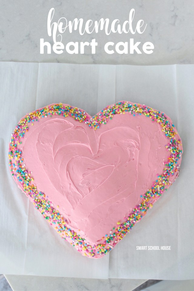 Heart Birthday Cake How To Make A Heart Cake This Valentines Day For Only 6