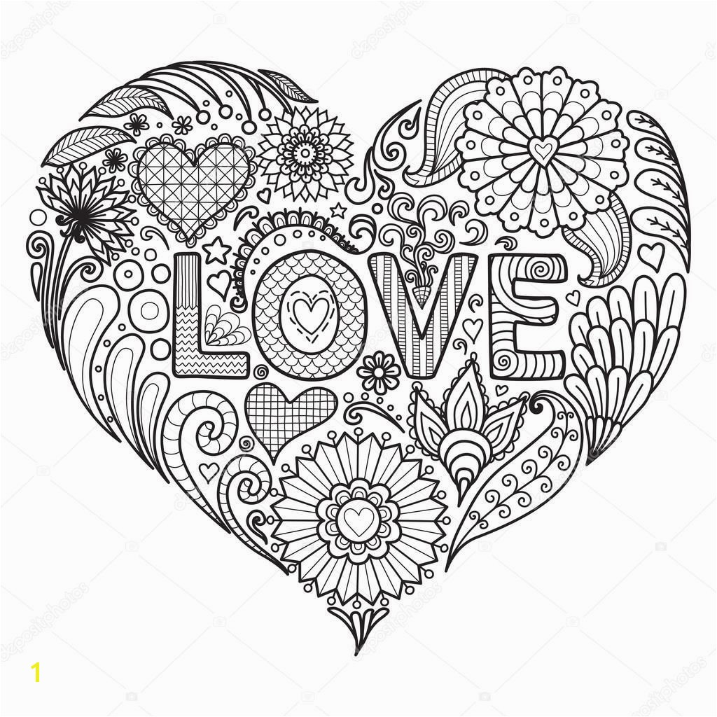 Heart Coloring Pages For Adults Heart Coloring Pages Surprising ... | 1024x1024