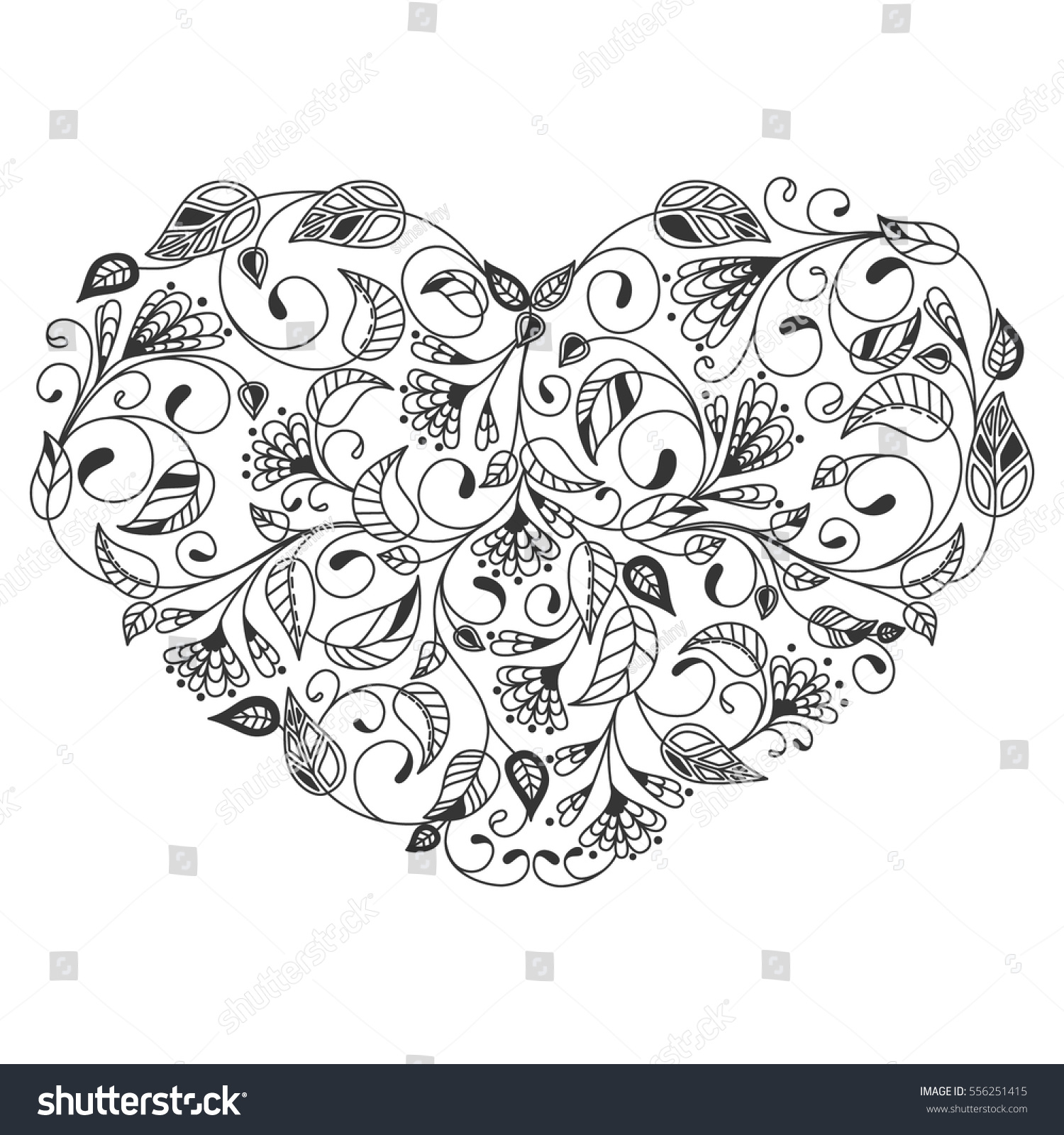picture about Heart Coloring Pages Printable named Center Coloring Internet pages For Grownups Coloring Webpage Coloring Internet pages