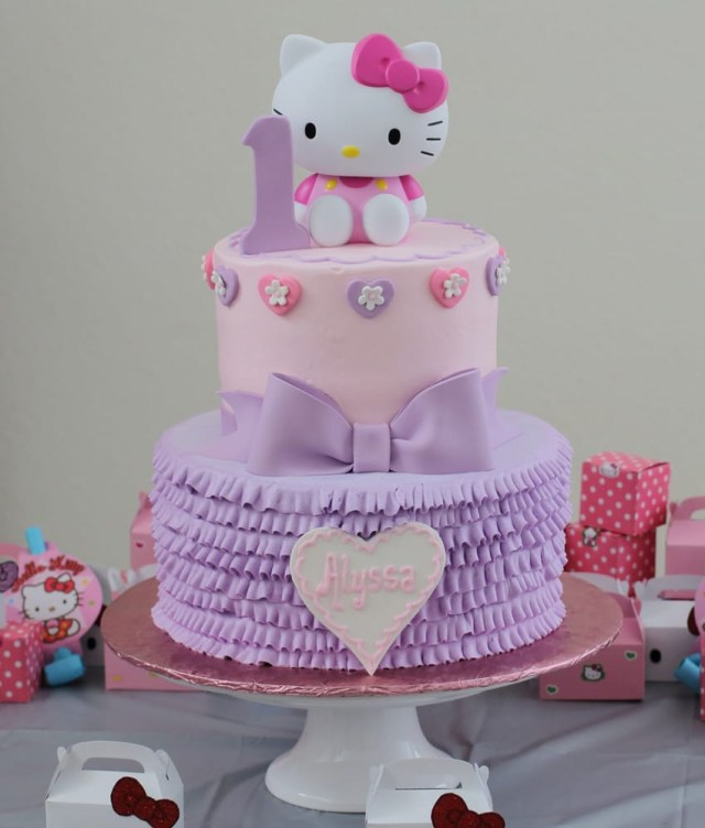 Hello Kitty Birthday Cakes Hello Kitty Birthday Cake Yelp