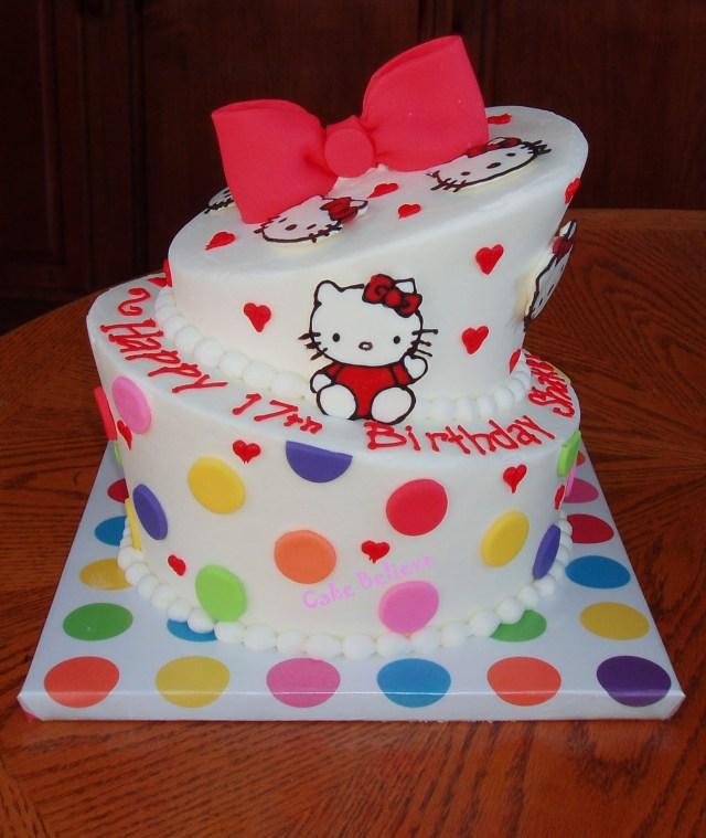 Hello Kitty Birthday Cakes Hello Kitty Birthday Cakes Mytonix Home Design Articles