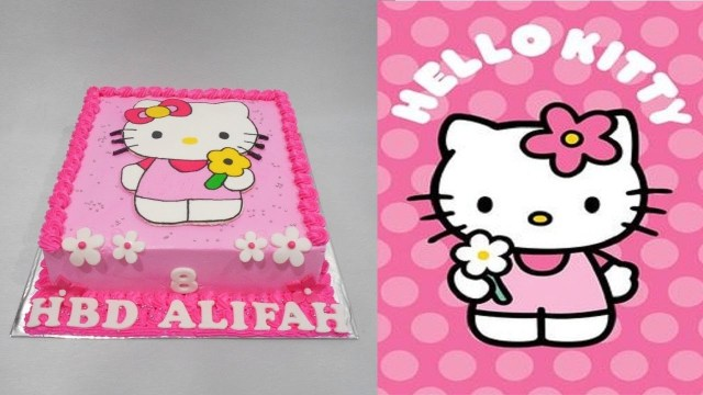 Hello Kitty Birthday Cakes Hello Kitty Cake Birthday Special Youtube
