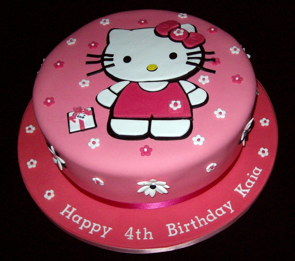 Awe Inspiring Hello Kitty Birthday Cakes Hello Kitty Cakes Decoration Ideas Personalised Birthday Cards Cominlily Jamesorg
