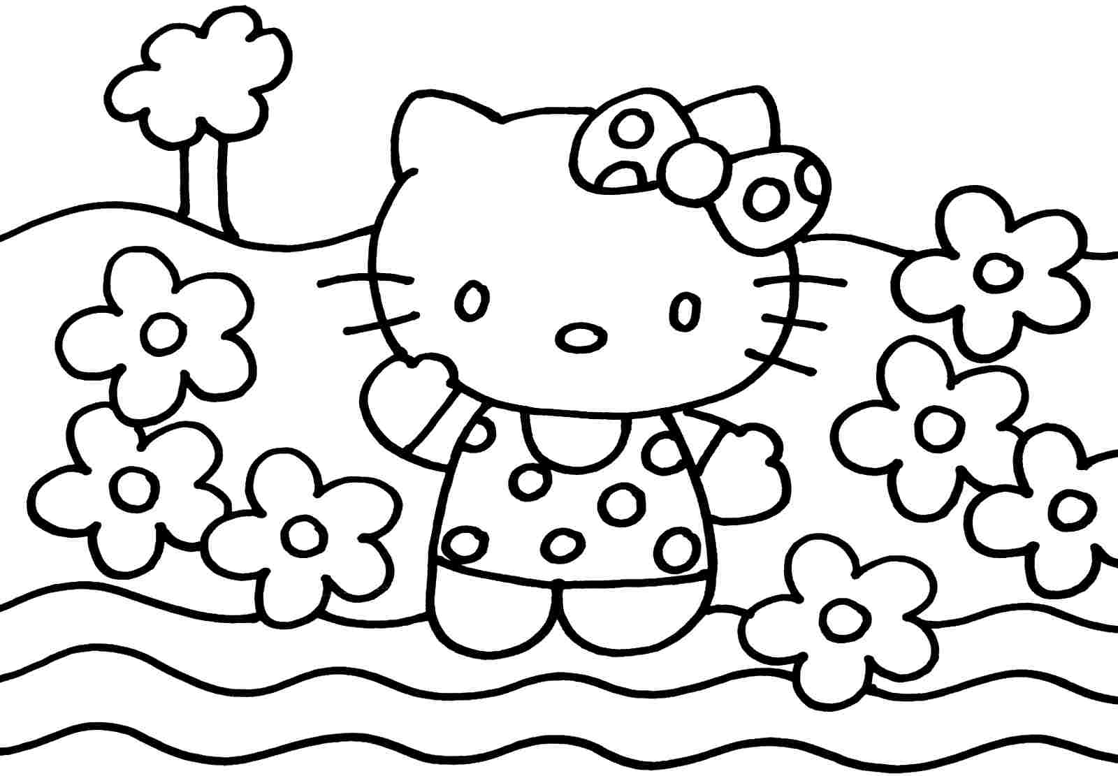 - Hello Kitty Coloring Pages Amazing Hello Kitty Coloring Book Pdf