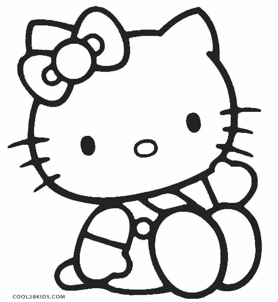HELLO KITTY Coloring Pages | How to Draw Hello Kitty Dress up Game ... | 1050x965
