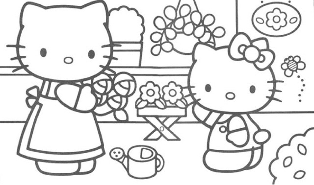 Hello Kitty Coloring Pages Guaranteed Hello Kitty Coloring Pages Games Free Online Game 1016