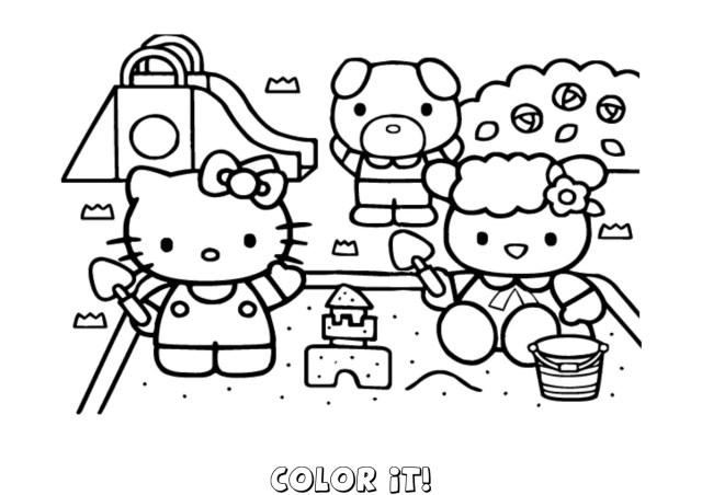 Hello Kitty Coloring Pages Hello Kitty Coloring Pages Art Drawings Such 4 Pinterest With Hello