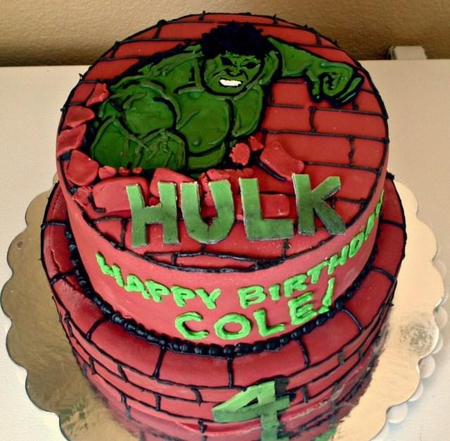Hulk Birthday Cakes Hulk Birthday Cake Cakecentral